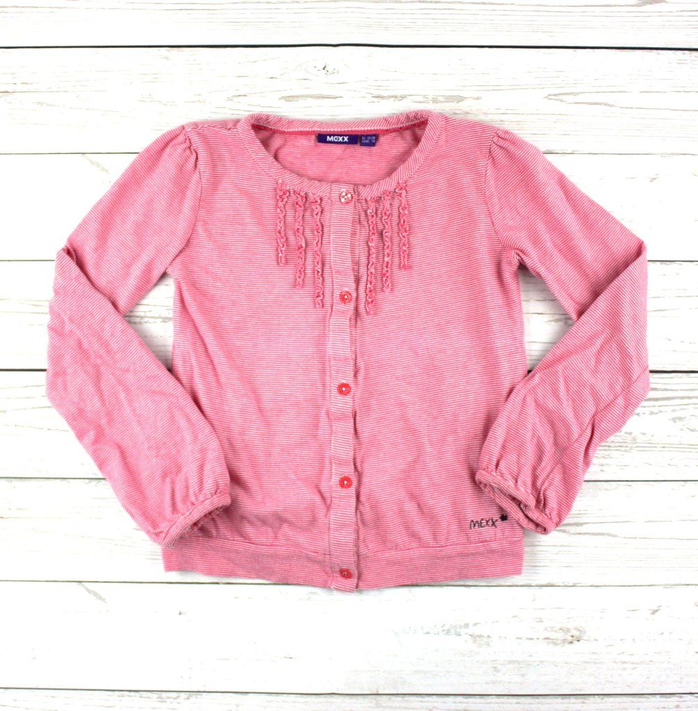 pink Mexx top, botton-down t-shirt, pink to for girls