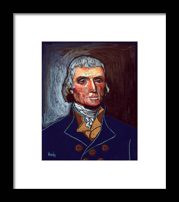 Thomas Jefferson Framed Print By David Hinds Framed Prints Thomas Jefferson Artwork
