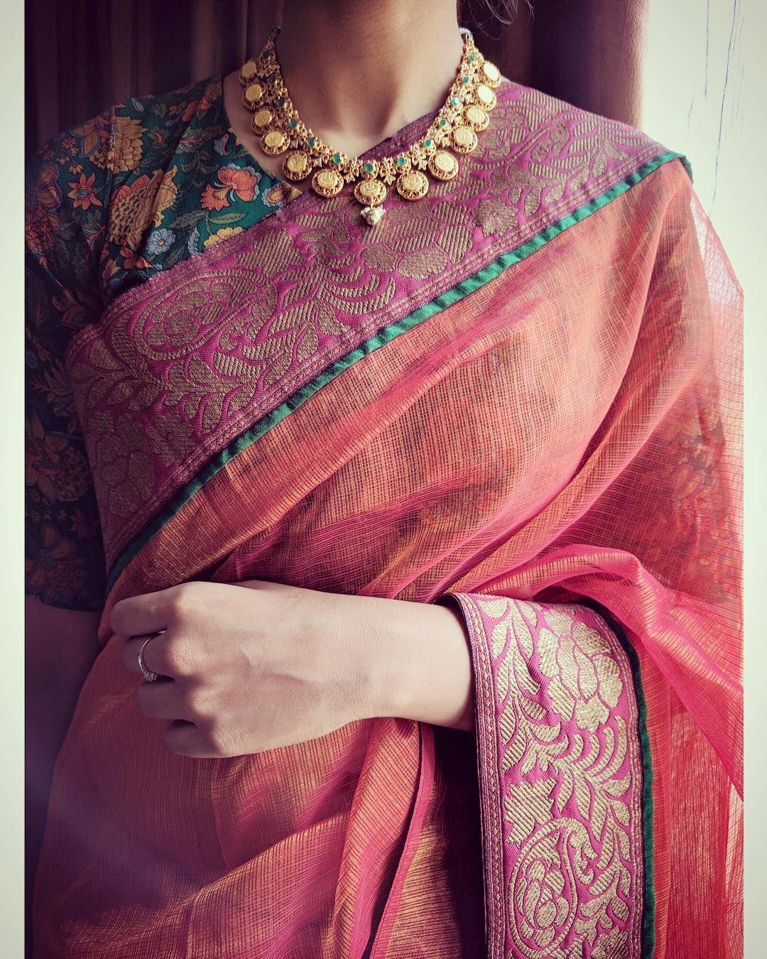 Pin de Rashmi Sharma en Sarees | Pinterest | Collares