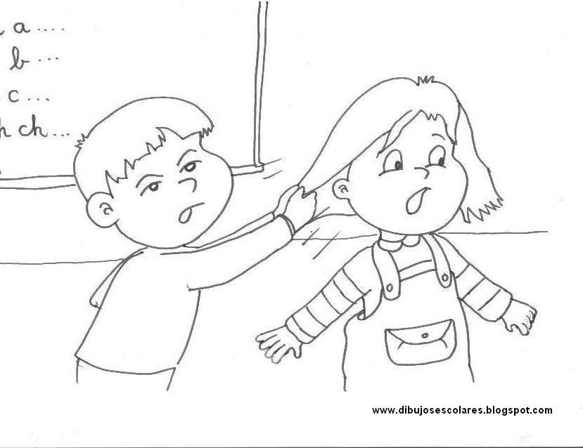 Dibujos Escolares: Convivencia Escolar | social stories | Pinterest ...