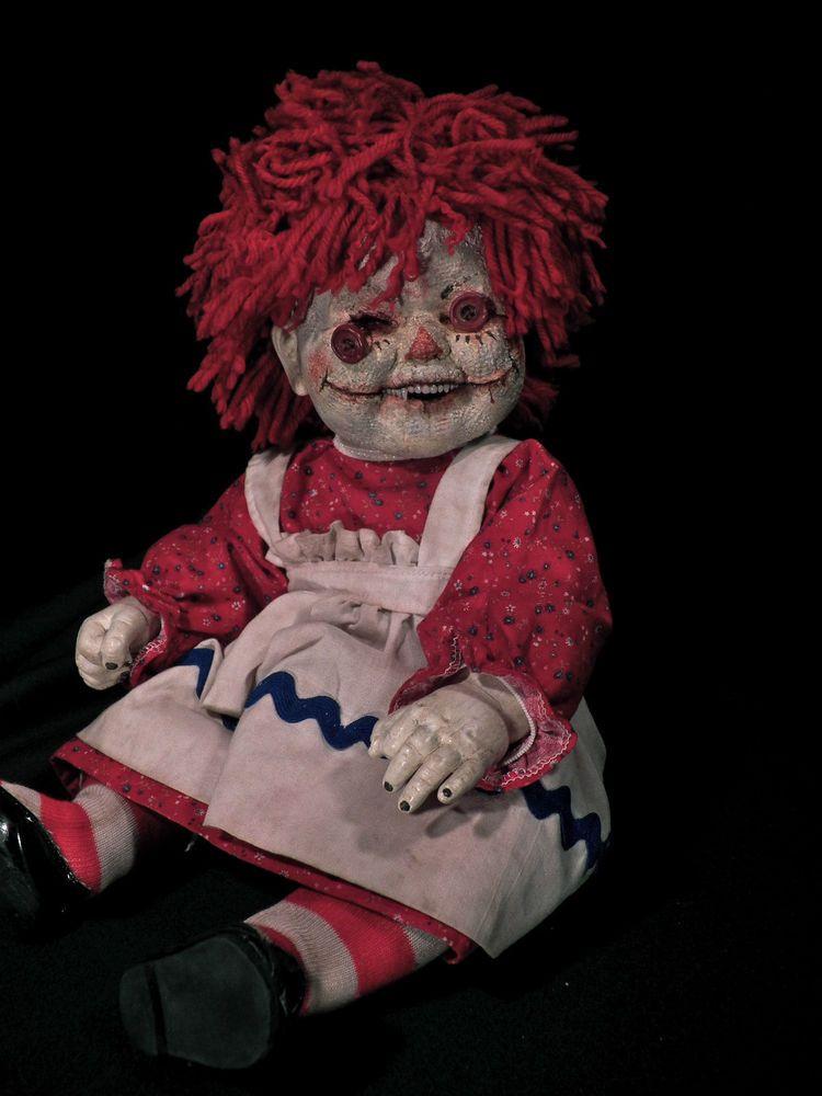 Raggedy Ann Horror Doll Krypt Kiddies Dolls Scary