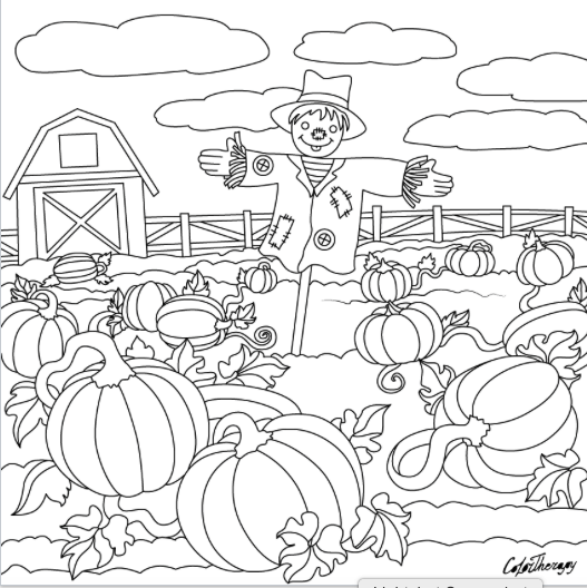 halloween therapy coloring pages - photo#11
