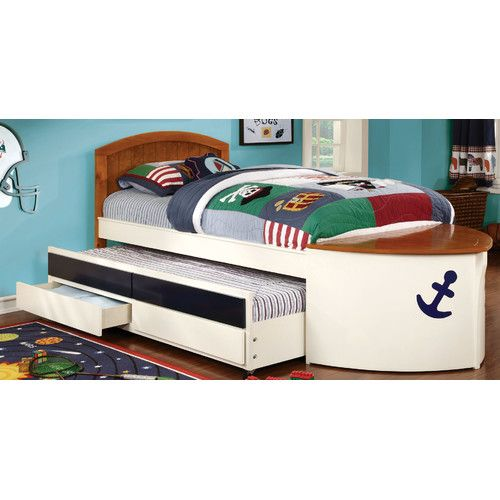Twin Bed With Trundle And Drawers Captains Bed Twin Trundle Bed