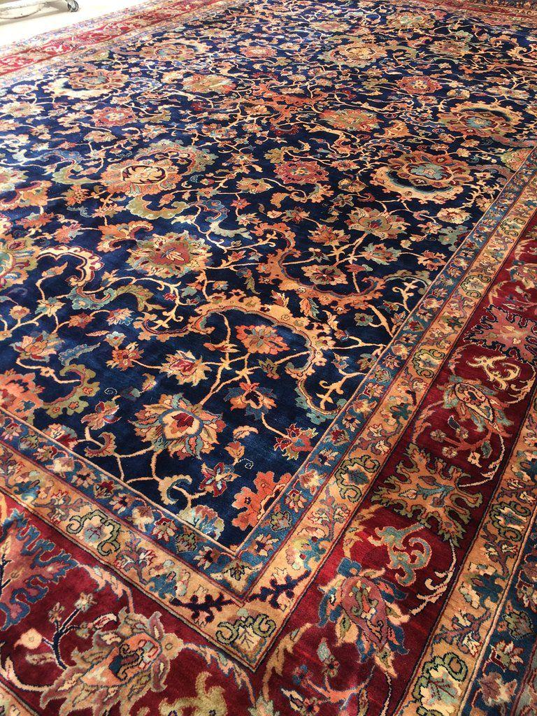 12x18 Vintage Persian Tabriz Oversize Vintage Rug In 2020 Victorian Rugs Rugs In Living Room Rugs