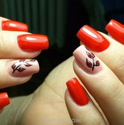 Photo of 28+ Best Ideas Nails Birthday Design Red