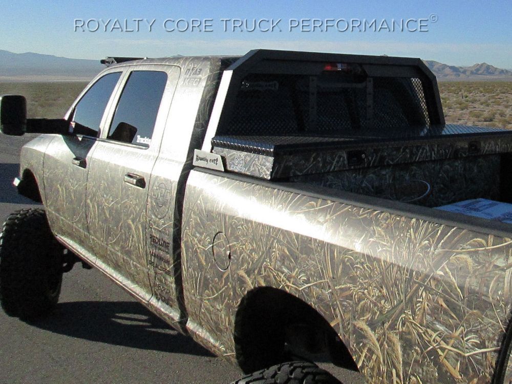 Custom Truck Grille Gallery Photos-Royalty Core HEADACHE RACKS RC88 ...