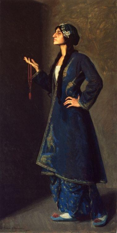 Nouvart Dzeron, a Daughter of Armenia - 1912 - Ralph Elmer Clarkson (american painter)