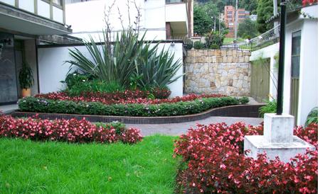 Agro decoraci n bellos jardines de flores y plantas for Decoracion de jardines de casas pequenas