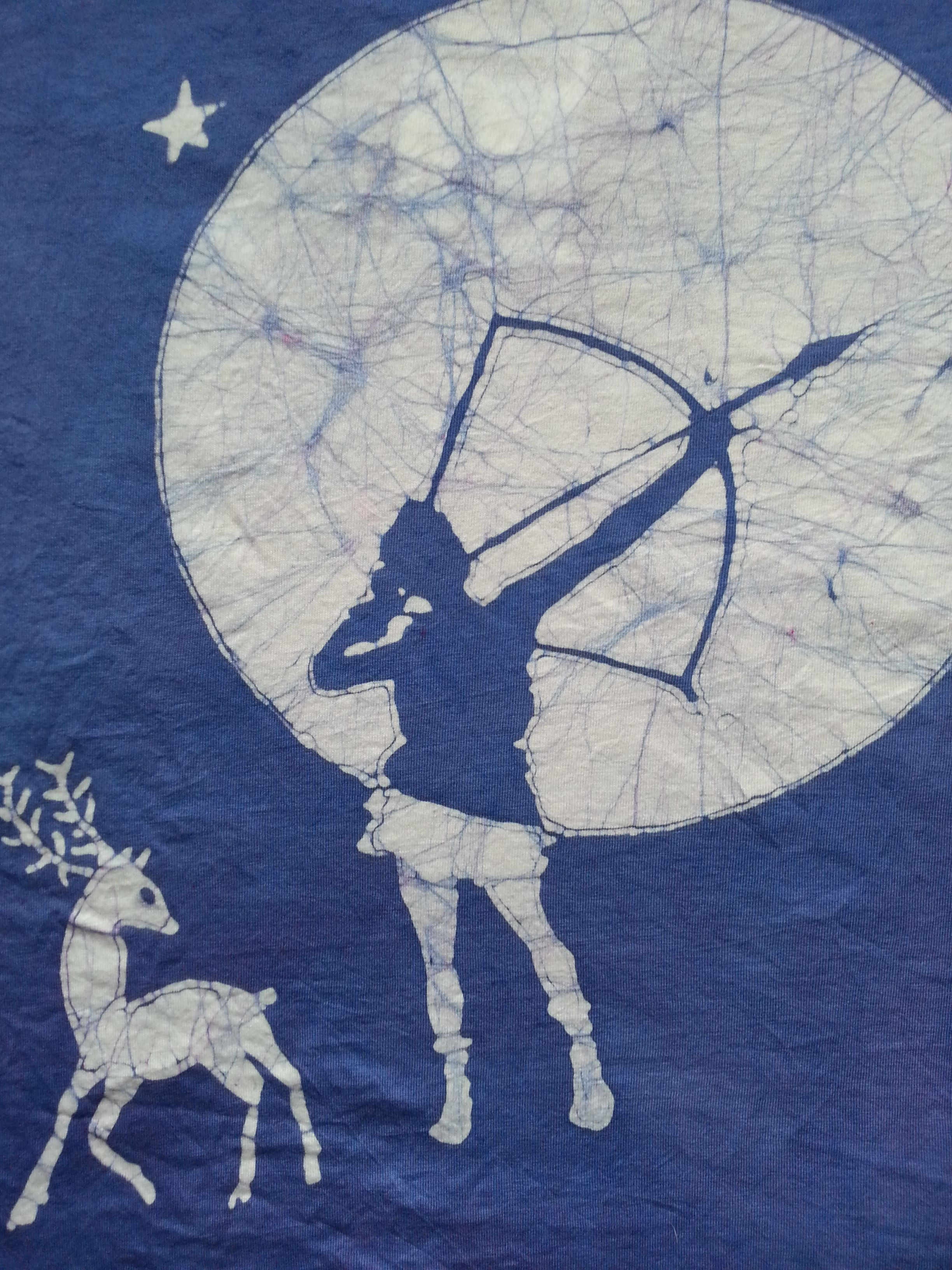 Artemis archery batik for mamie working on more now