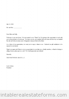 Free Sales Agreement Template Free Sales Thank You And Gift Certificate Letter Printable Real .