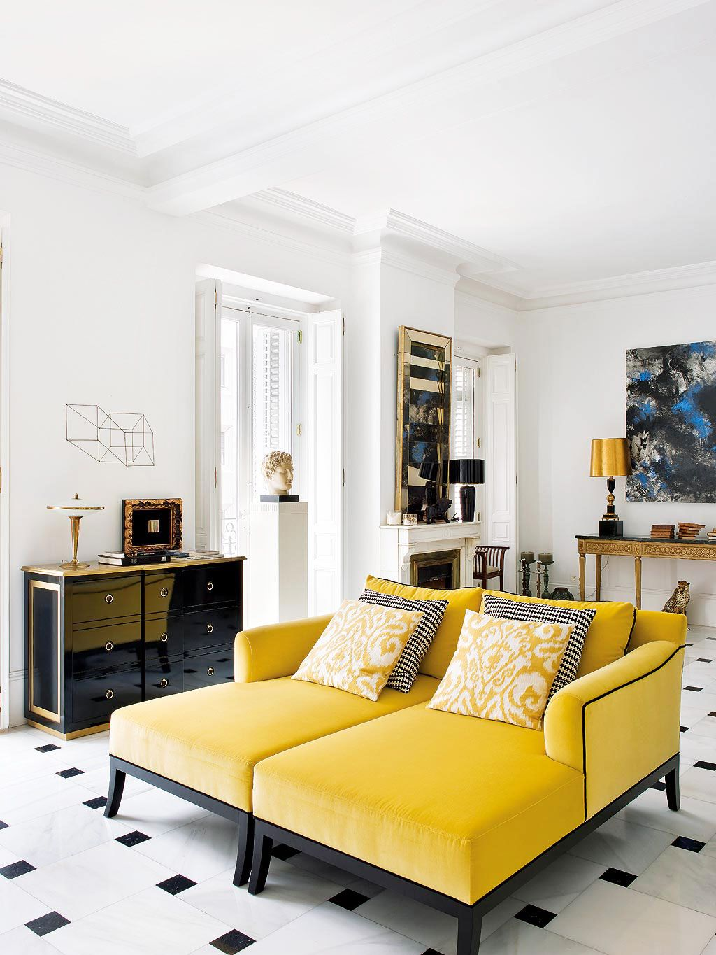 Tour an Eclectic Apartment in Madrid