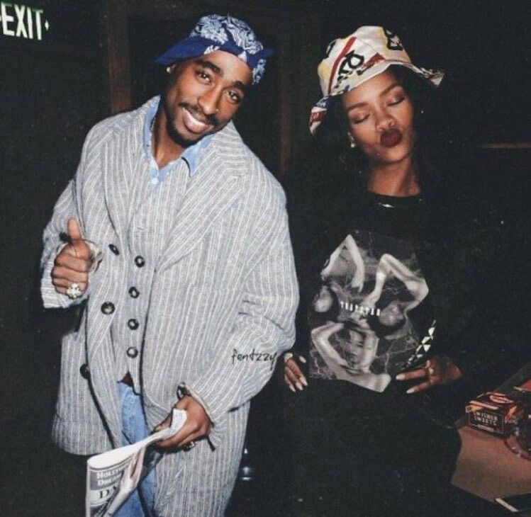 tupac, rihanna (With images) Tupac, Rihanna, Tupac shakur