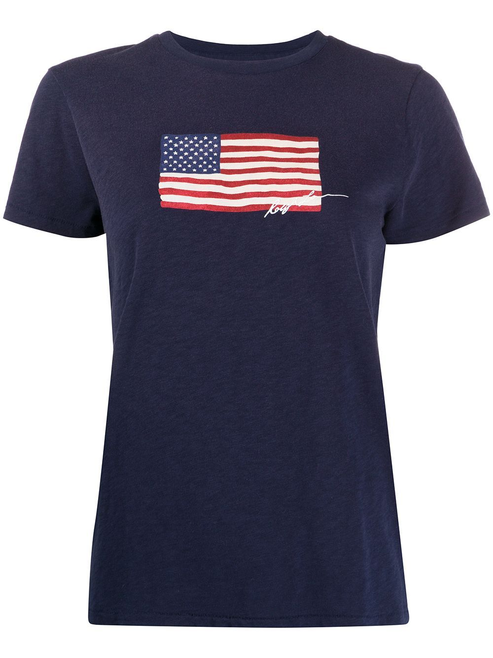 Polo Ralph Lauren Usa Flag T Shirt Farfetch In 2020 Polo Ralph Lauren Usa Shirt Shirts