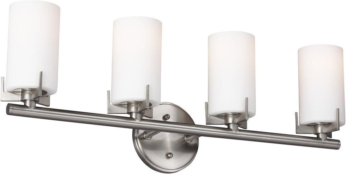 0-036113>Kenton 4-Light Bath Light Brushed Steel
