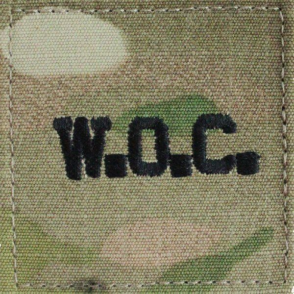 Warrant Officer Candidate WOC Multicam (OCP) Patch