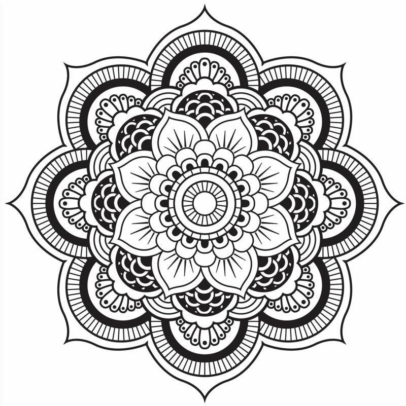 originelle mandala form eine h bsche blume zeichnen sketchnotes pinterest form h bsch. Black Bedroom Furniture Sets. Home Design Ideas