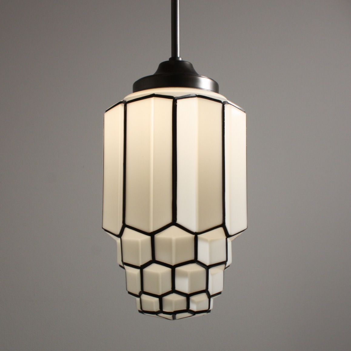 Bathroom Lights Art Deco: ... Vintage Art Deco Pendant