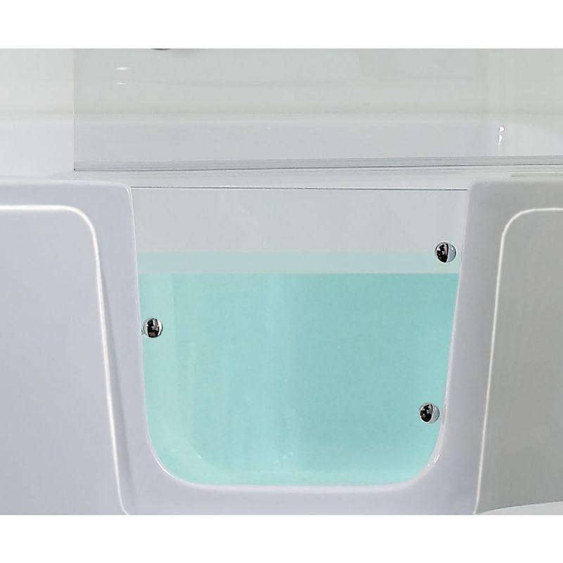 Phoenix Ambulant Comfort Walk-In Shower Bath. Glass side-door ...