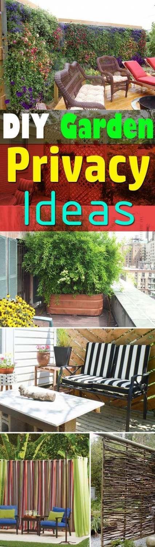 Trendy Terrasse Ideen Balkon Sichtschutz Ideen #balkonsichtschutz