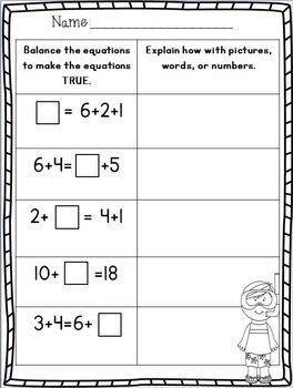 First Grade End of the Year MATH Review Part 2~ Freebie in the ...