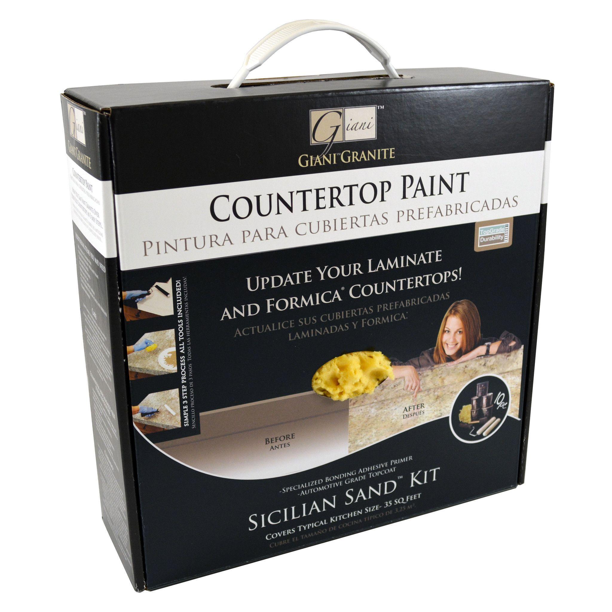 "Giani ""Sicilian Sand"" Countertop Paint Kit Painting"