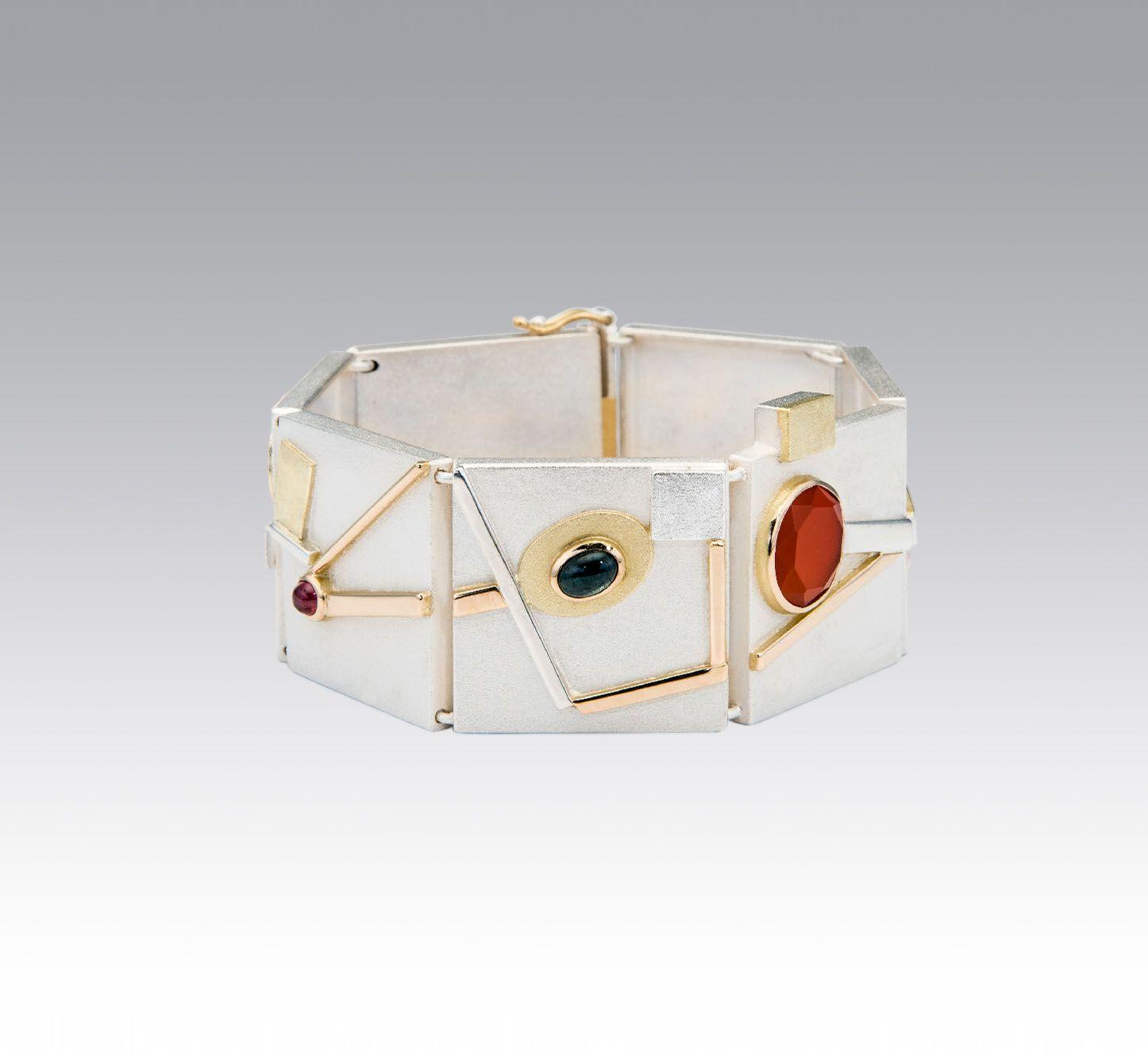 Bracelets janis kerman design handmade silver bracelets
