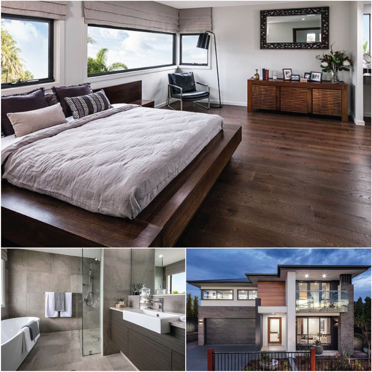 5 star master bedrooms  Build this housedesign with a master suite that has all the luxury