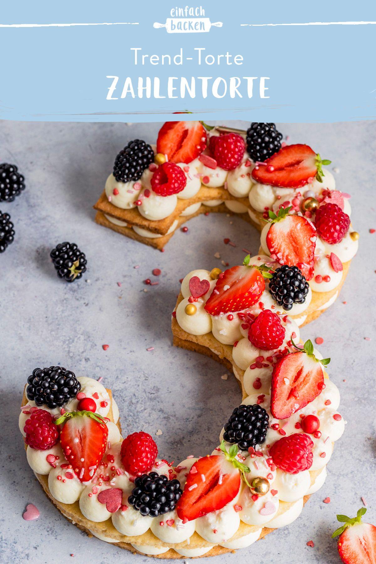20 Geburtstag kuchen backen einfach