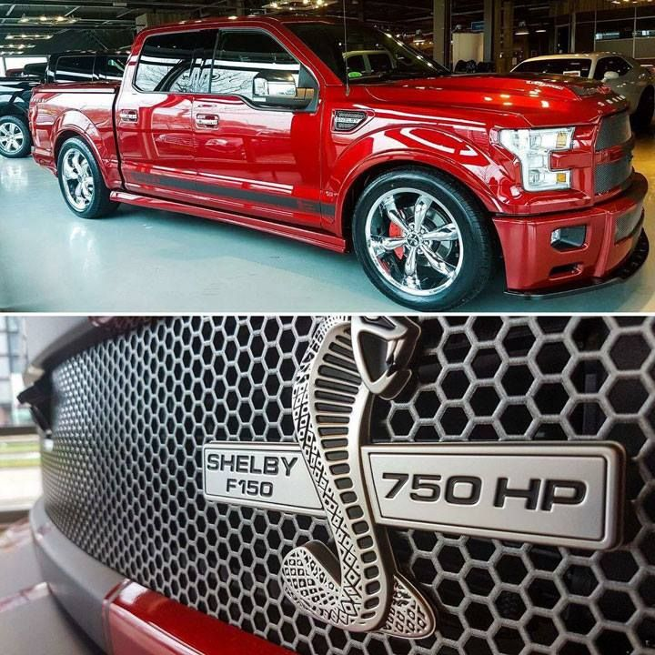 Shelby Unveils 750hp 2017 F 150 Super Snake Street Truck