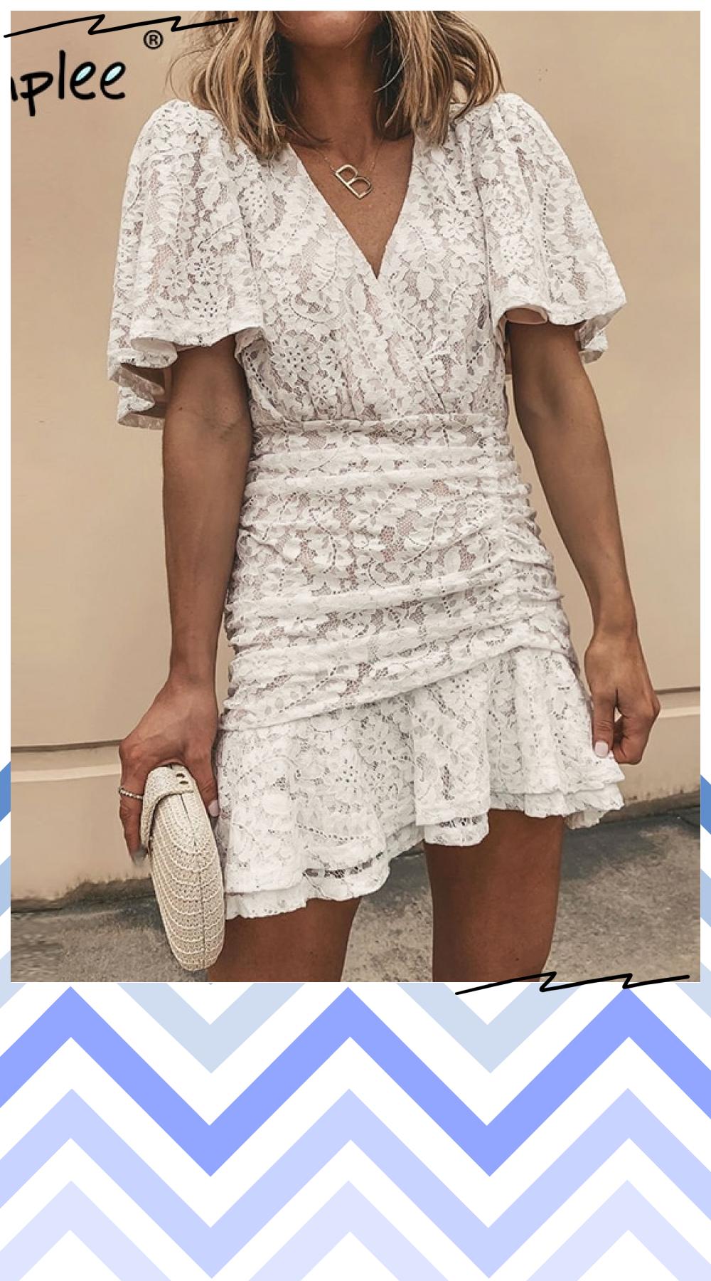 Pin On White Dresses Wedding Ideas Midi Maxi Mini [ 1800 x 1000 Pixel ]