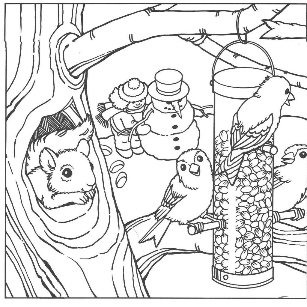 Winter Coloring Pages for Adults - Best Coloring Pages For Kids