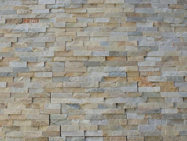 Continental Tiles Split Face Oyster Quartzite Cladding