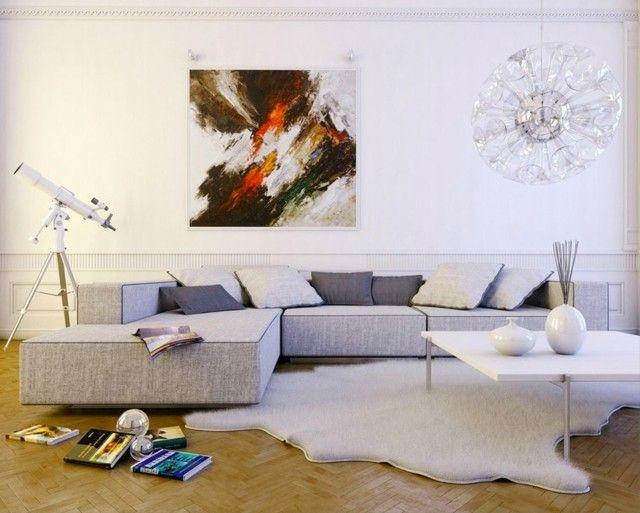 Salón moderno: tendencias originales para 2015 | Sala de estar ...