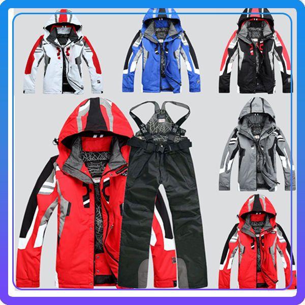 Pantalon et veste de ski pour homme