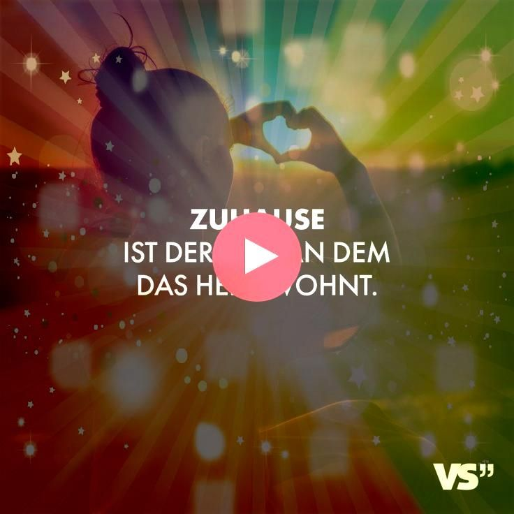 Visual Statements Zuhause ist der Ort an dem das Herz wohnt Sprüche Zit Visual Statements Zuhause ist der Ort an dem das Herz wohnt Sprüche Zitate Quotes Fa…