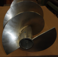 stainless food auger