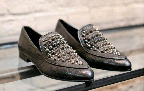LOVE IT!! #allsaints #studded #loafer