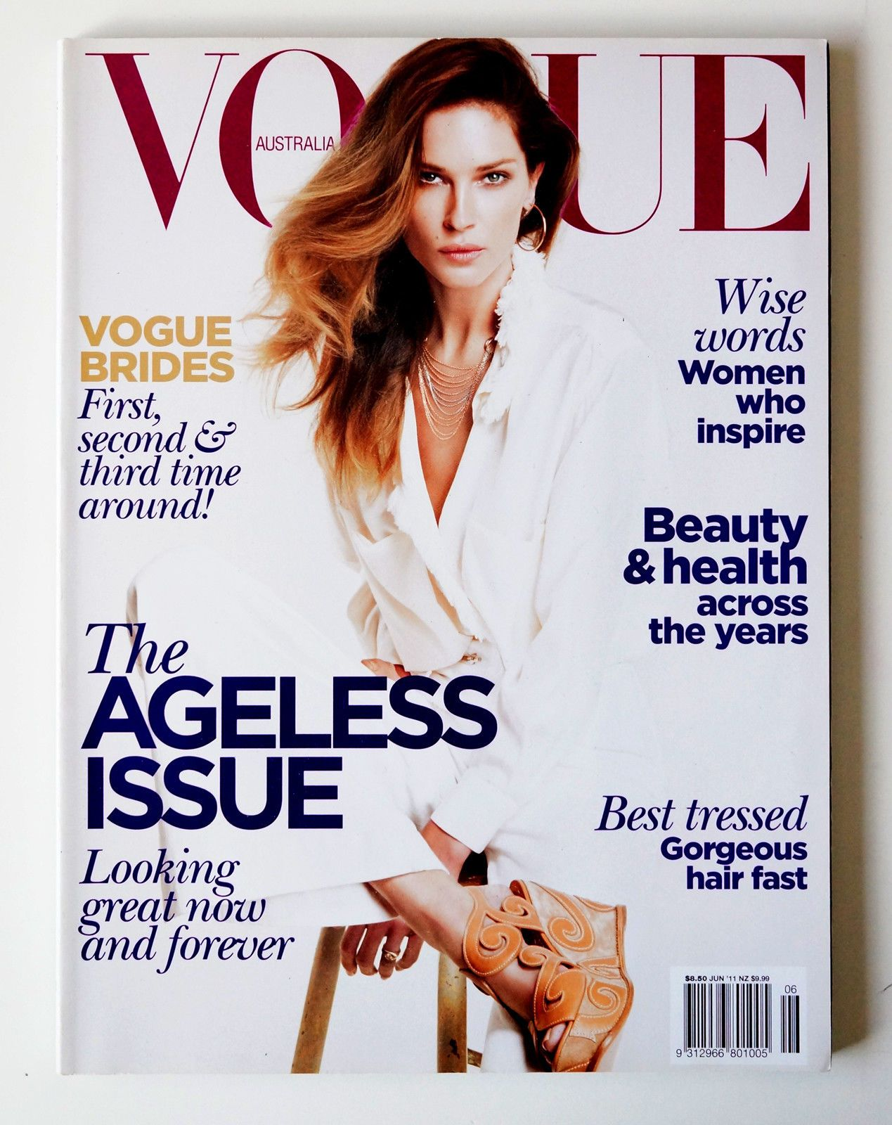 Australian Vogue x6 Issues. Small amounts of wear