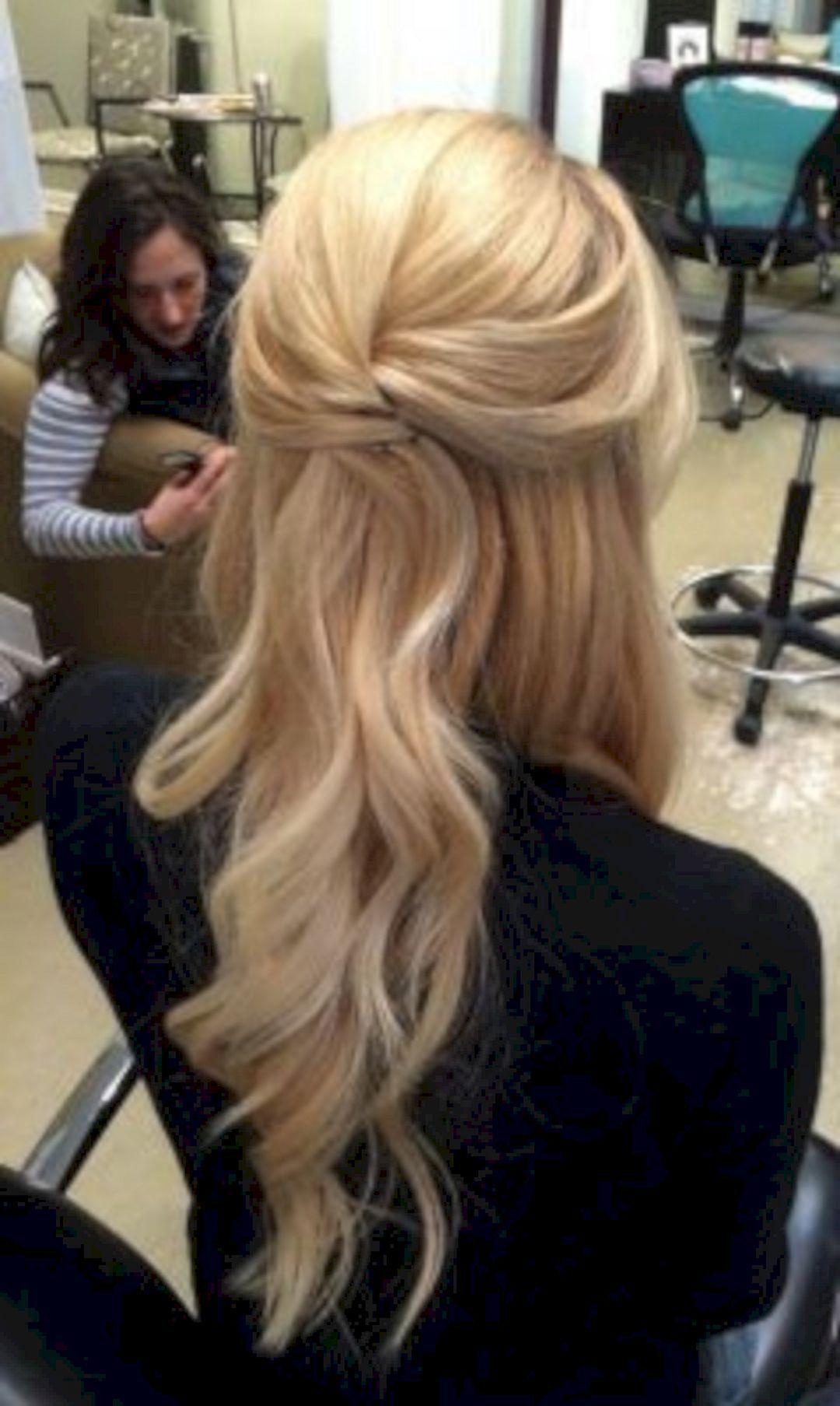 Stunning Half Up Half Down Wedding Hairstyles Ideas No 141 Morgan