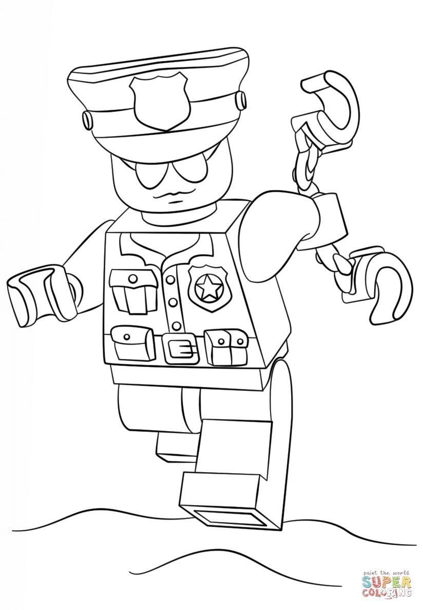 Lego City Coloring Pages Pin By Karla Macy On Preschool In 2020 Lego Coloring Pages Lego Coloring Lego Police