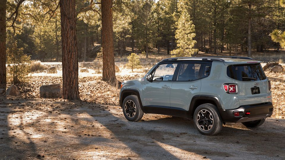 The All New Jeep Renegade Is The Perfect Jeep For Those Craving
