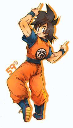 Goku fan art tumblr buscar con google dragon ball pinterest anime publicscrutiny Image collections