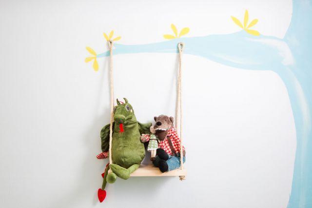 Habitación Infantil Para Niñas   Columpio