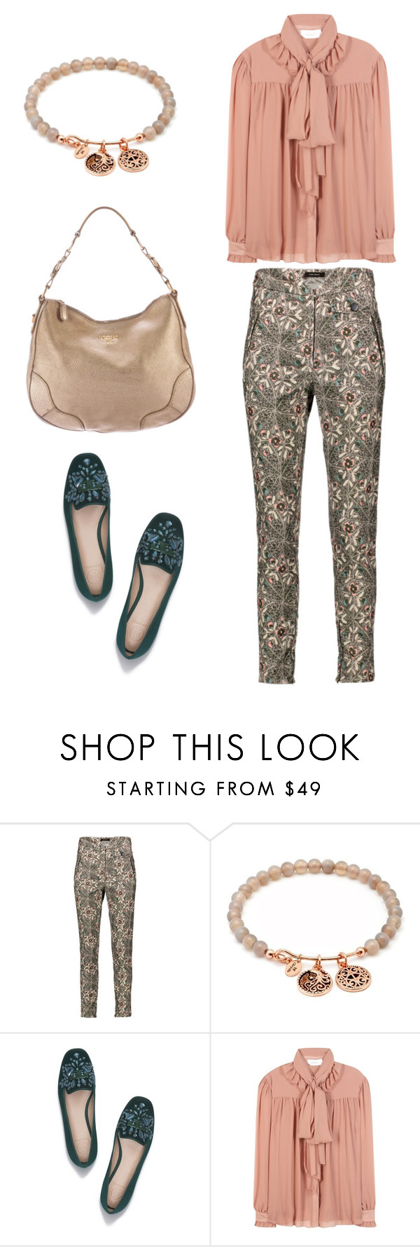 """""""HW SR-2"""" by tanya-liljenfeldt on Polyvore featuring Isabel Marant, Chrysalis, Tory Burch, See by Chloé and Prada"""
