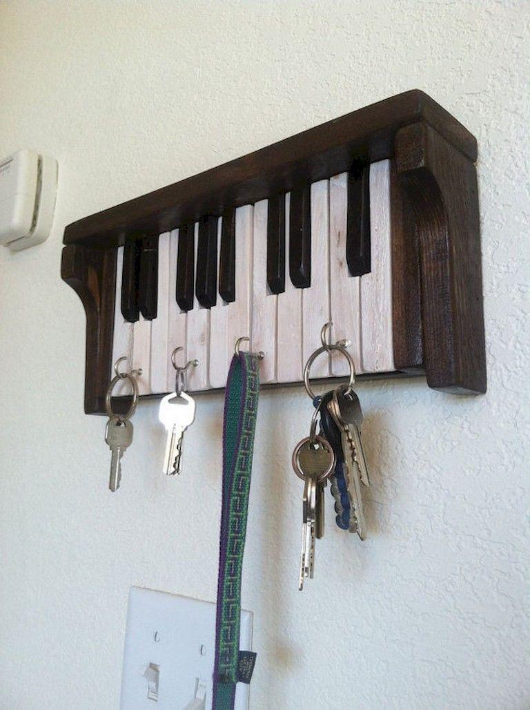 44 Smart Key Rack Hook Holders Ideas On Entryway Piano Decor