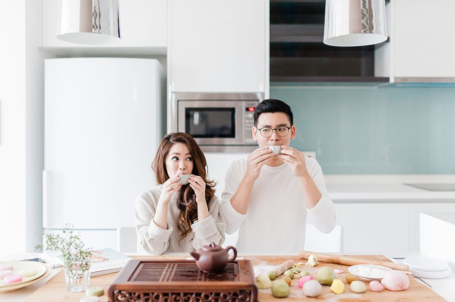 Making Mooncakes: Seik Yeu and Serene\'s Home Engagement Shoot ...