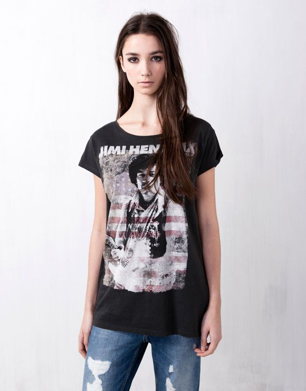 Jimi At Camisetas PullCloset CamisetasCortar Y Top Hendrix 5j34RLA