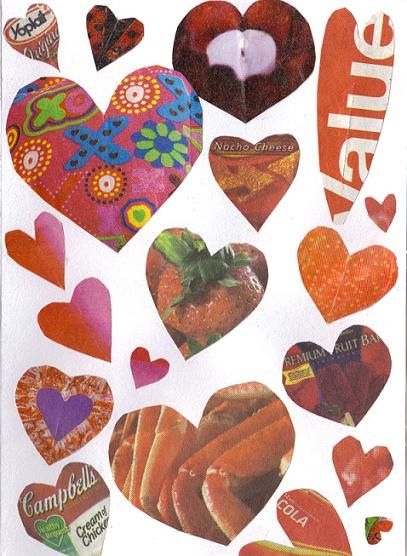 make your own recycled valentine's day cards | happy simple living, Ideas