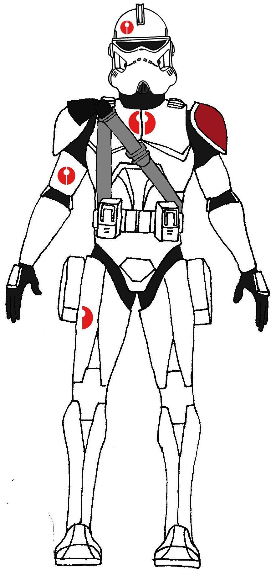 Clone Commander Neyo | Tekenen | Pinterest | Clone trooper and Starwars