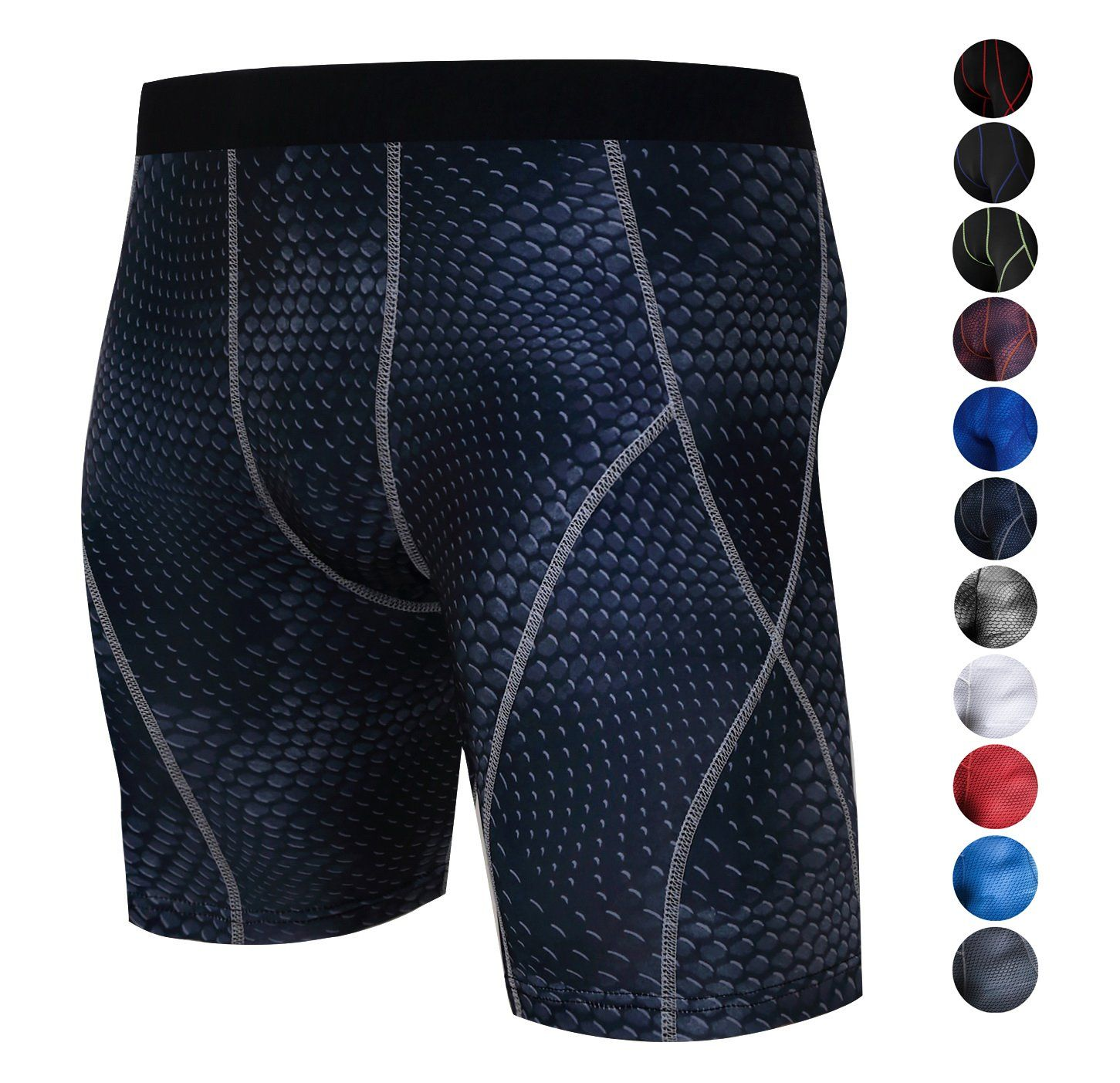ChinFun Men s Sports Boxer Briefs Performance Cool Dry 6